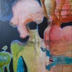 Wezen & Waan 6 * Acryl en inkt op linnen | 60x50